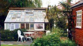Invernaderos como diseño decorativo