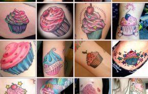 Fotos de tatuajes de cupcakes