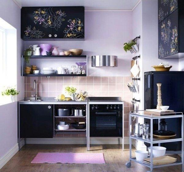 Más de 100 fotos de cocinas pequeñas y modernas de 2017