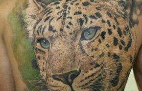 Tatuaje de leopardos