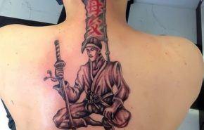 El tatuaje sámurai de Fernando Alonso