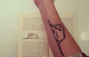 Tatuajes inspirados en 'El Principito'