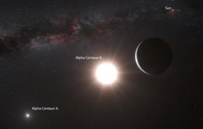 Descubrieron un planeta en Alfa Centauri