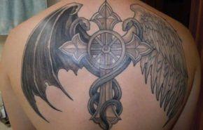 Tatuaje de Caduceo (símbolos médicos)