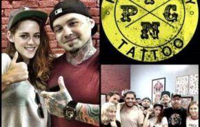 El primer tatuaje de Kristen Stewart