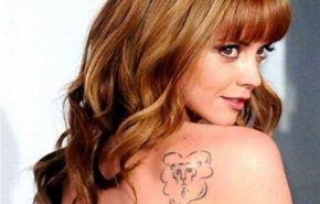 Los tatuajes de Cristina Ricci