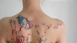 Las fotos de tatuajes de acuarela para mujeres