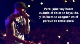 Letra y traducción Eminem – Guts Over Fear ft. Sia