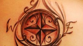 Tatuajes de Rosa de los vientos