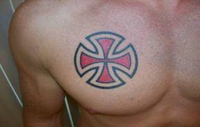 Tatuajes de la cruz de Malta