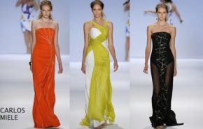 Vestidos fiesta New York Fashion Week