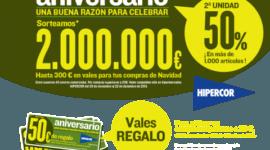 Vales de 300 euros para comprar juguetes en Hipercor