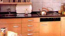 Cómo elegir la mesada o encimera de la cocina