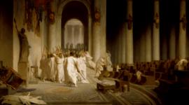 Descubren el lugar exacto en que fue asesinado Julio César