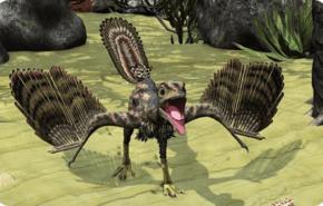 Dinosaurios emplumados contaban con un cerebro listo para el vuelo