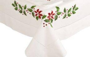 Decorar mesa en navidad