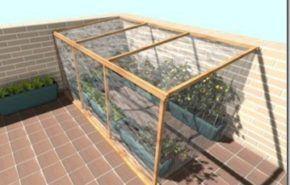 Hacer un invernadero casero