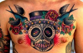 Tattoos sugar skull