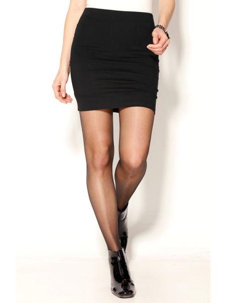 venca-catalogo-falda-corta-lisa-cinturilla-elastica-negro