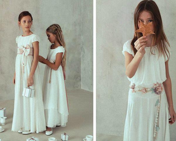 Los Vestidos De Comunión Primavera Verano 2020 Tendenziascom
