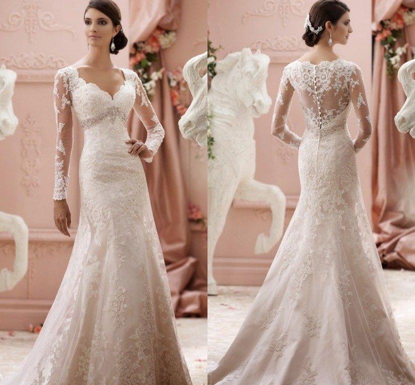 vestidos de novia 2019 - tendenzias