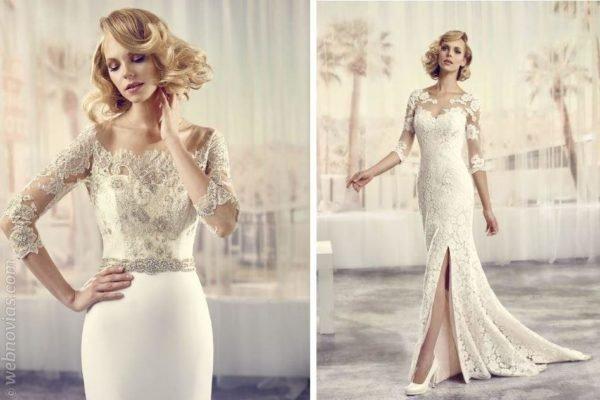 Vestidos de novia estilo charleston