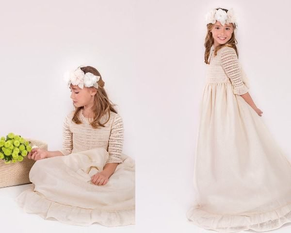 Los vestidos mas bonitos de niрів±a