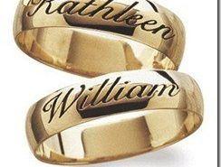 Anillos de boda personalizados
