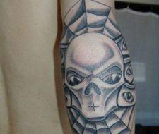 Diseño de Alien Faraón