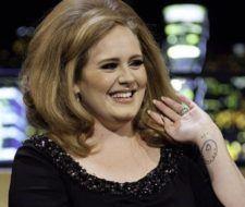 Los tatuajes de Adele