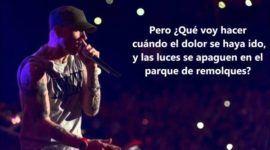Letra y traducción Eminem – Guts Over Fear ft. Sia