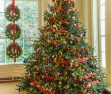 Árboles de Navidad 2017 decorados, originales y caseros   Tendencias