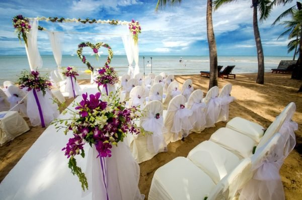 Boda tematica decoracion playa