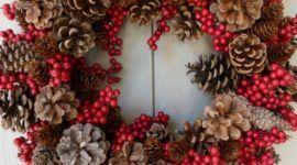 Más de 50 Fotos de Coronas de Navidad 2017 para decorar la casa