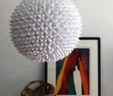 Cómo hacer una lámpara de papel