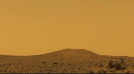 ¿Cómo veríamos el cielo en Marte?