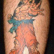 Tatuaje de Dragoon ball Z
