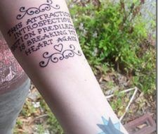 Algunas frases para tatuar