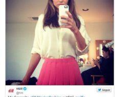 El look favorito de Miranda Kerr |Colección H&M primavera 2014