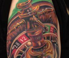Tatuajes de la suerte, (la ruleta)