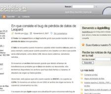 Nuevo blog en la Granja: Apple Blog