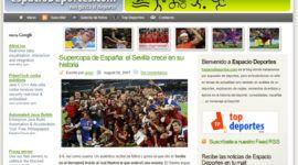 Espacio deportes: Llega nuestro blog deportivo