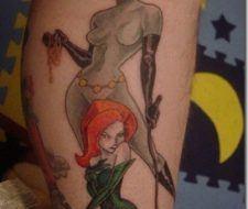 Tatuajes de Gatubela