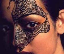 El tatuaje maorí