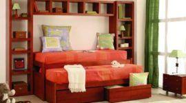 Mobiliario ideal para habitación compartida de niños
