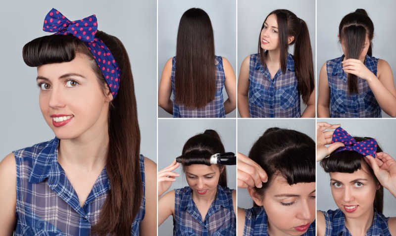 Como Hacer Peinados De Los Anos 50 Paso A Paso Tendenzias Com