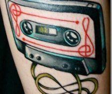 Tatuajes de Cassettes