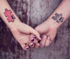 Tatuajes puzzles o rompecabezas