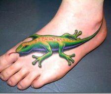 Tatuajes de reptiles