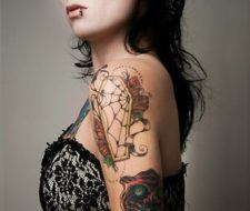 Tatuajes de telarañas| significado
